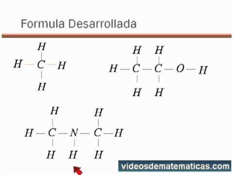 02 Quimica del Carbono - Formulas Desarrolladas.mp4 - YouTube