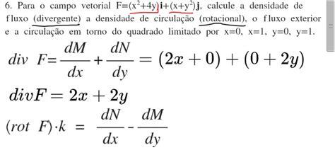 06-Divergente, Rotacional, Fluxo e Circulação em Torno do ...