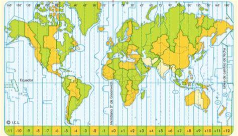 1.4 Los husos horarios | Hola Mundo