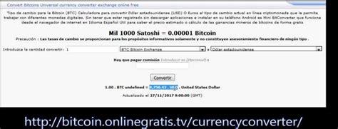 1 Bitcoin al cambio 8100 Euros