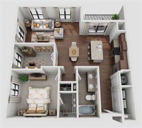1 dormitorio | Planos de casas modernas