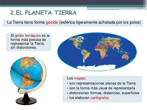 1. El planeta tierra