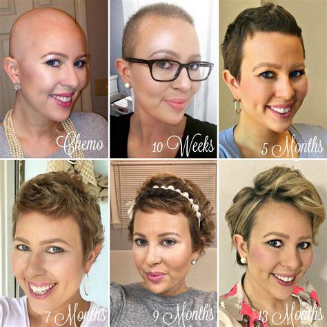 1 Year Hair Growth: Chemo Hairless - My Cancer Chic | My ...