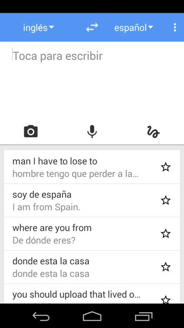 10+1 usos del Traductor de Google | nubbius   Software ...