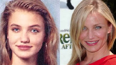 10 actrices famosas antes y despues - YouTube
