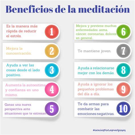 10 beneficios de la meditación ~ Gracias por las mariposas