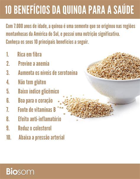 10 Benefícios Incríveis da Quinoa para a Saúde   Biosom ...