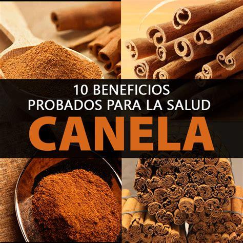 10 Beneficios Probados Para La Salud De La Canela