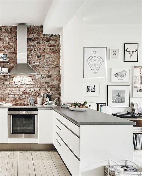 10 Cocinas con ladrillo visto. Decoración hogar, Decoralia.es