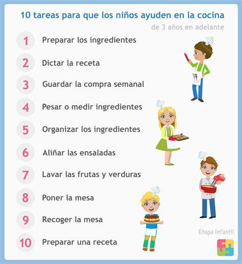 10 cosas que los niños pueden hacer en la cocina - Etapa ...