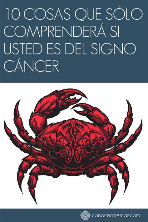 10 cosas que sólo comprenderá si usted es del signo cáncer