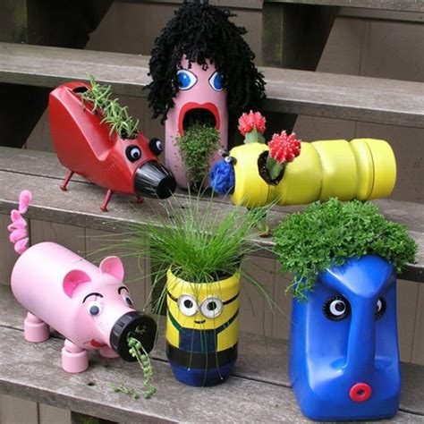 10 creative ways to make beautiful flowerpots from ...