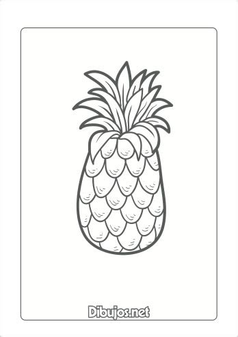 10 Dibujos de frutas para imprimir y colorear   Dibujos.net
