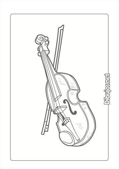 10 Dibujos de Instrumentos Musicales para imprimir y ...