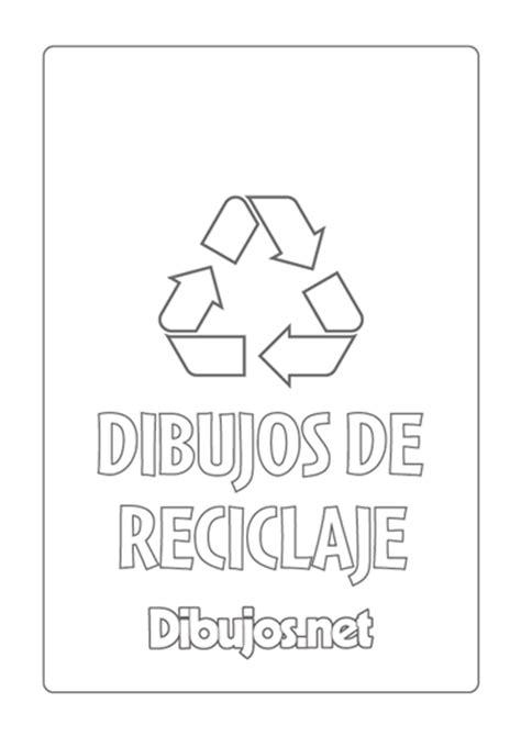 10 Dibujos de reciclaje para imprimir y colorear - Dibujos.net