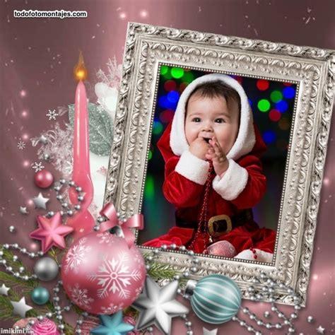 10 Diseños de Fotomontajes de Navidad con adornos