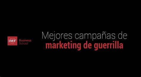 10 Ejemplos de campañas de marketing de guerrilla