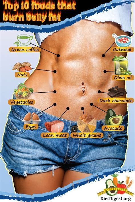10 Food To Burn Belly Fat Pictures, Photos, and Images for ...