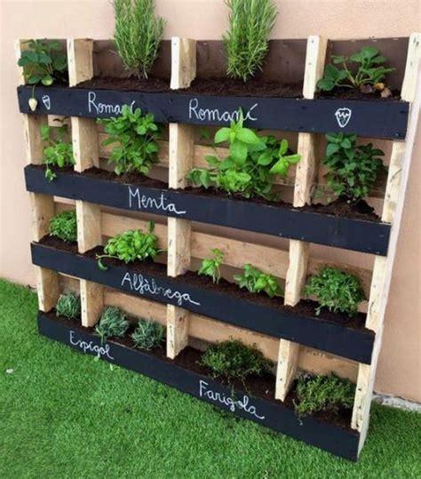 10 fotos con jardineras con palets