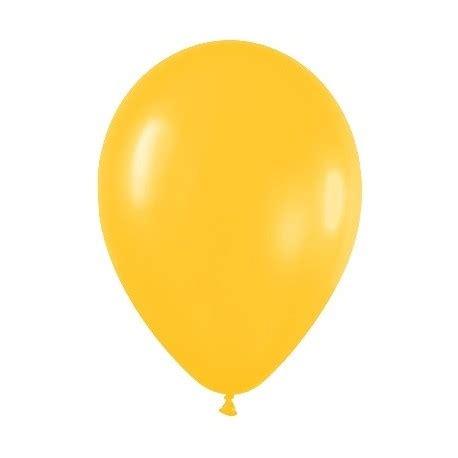 10 globos de color amarillo huevo | Tienda de globos online