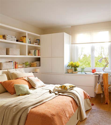 10 ideas geniales para dormitorios pequeños
