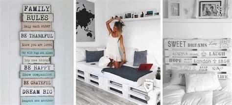 10 ideas originales para decorar tu habitación con palets ...