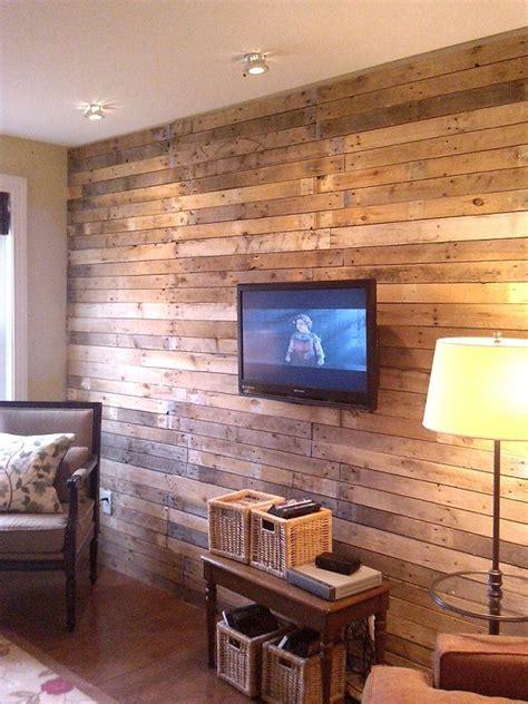 10 ideas para decorar las paredes tu casa con madera - Tu ...