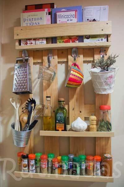 10 ideas para fabricar una estantería con paléts de madera ...