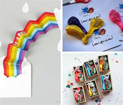 10 invitaciones de cumpleaños muy originales y bonitas ...