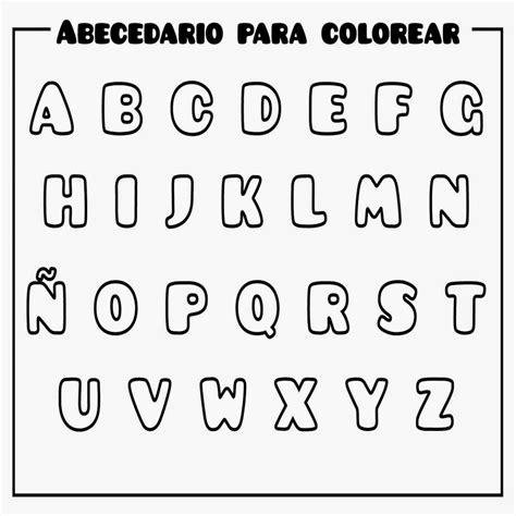 10+ Letras Del Abecedario Con Dibujos Para Colorear