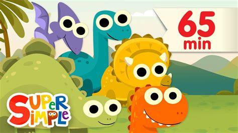 10 Little Dinosaurs + More | Kids Songs | Super Simple ...