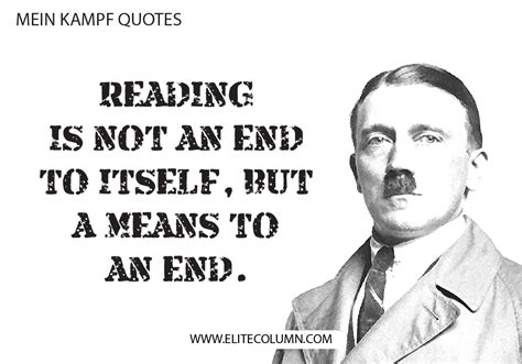 10 Mind-boggling Mein Kampf Quotes | EliteColumn