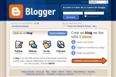 10 Pasos para crear un blog en Blogger   10puntos