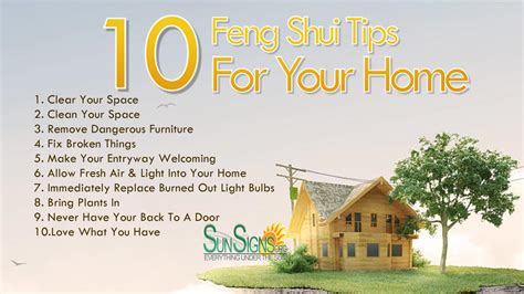 10 Quick Feng Shui Tips For Your Home | SunSigns.Org