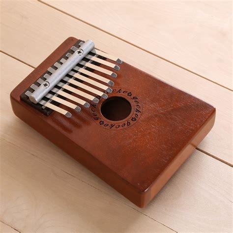 10 Tecla do Teclado de Piano de Polegar Kalimba Africano ...