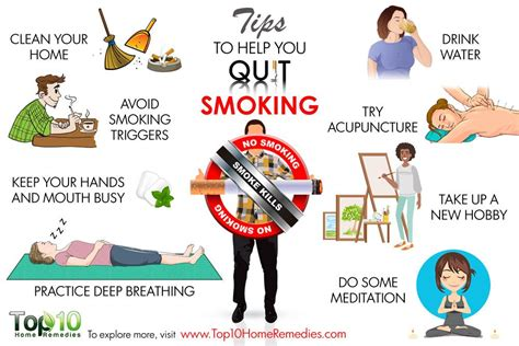 10 Tips to Help You Quit Smoking | Top 10 Home Remedies