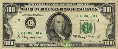 100 American Dollars series 1963   Exchange yours for cash ...