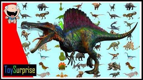 100 dinosaurios! Los números del 1 al 100 en español para ...
