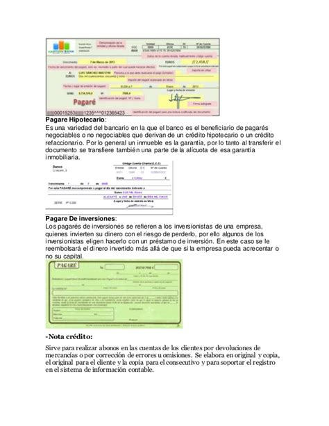 100 documentos comerciales