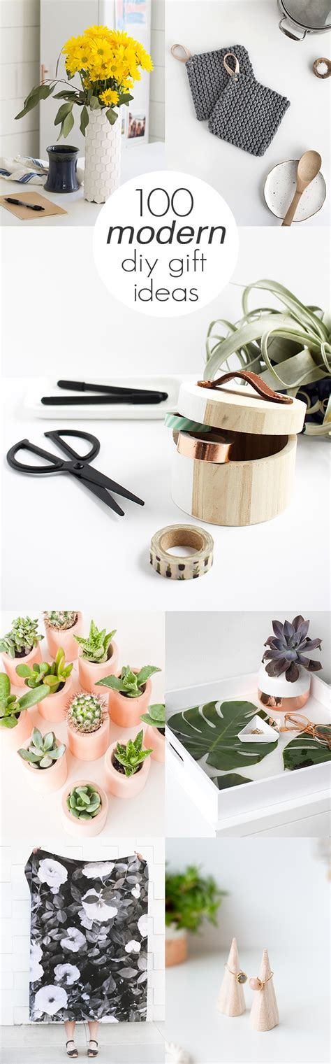 100 Modern DIY Gift Ideas Idle Hands Awake