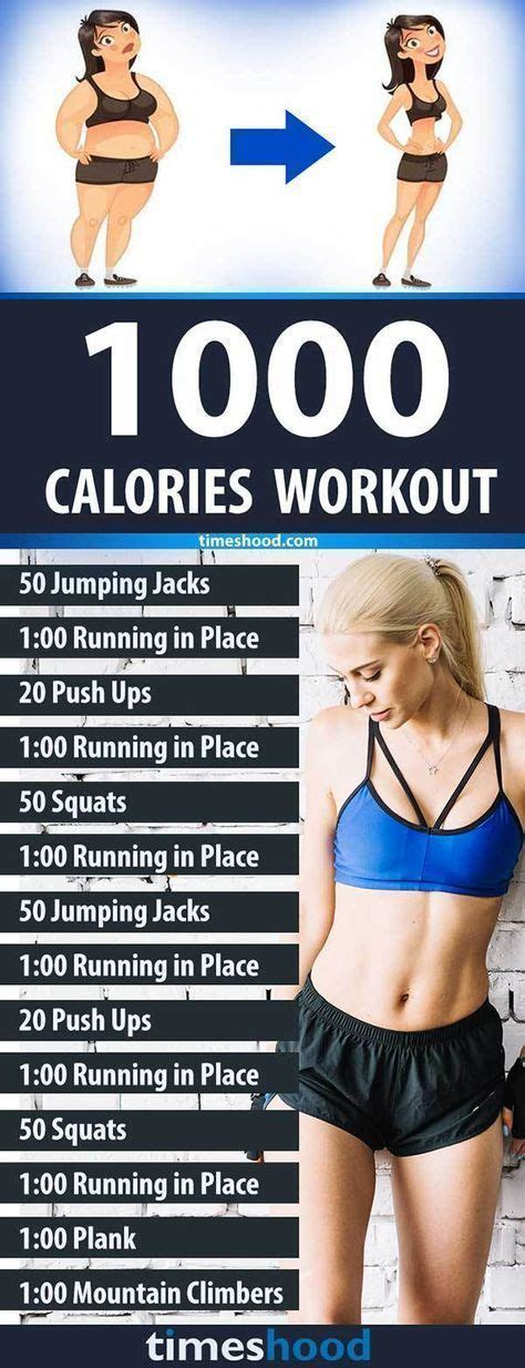 1000 CALORIES WORKOUT | Work outs | Pinterest ...