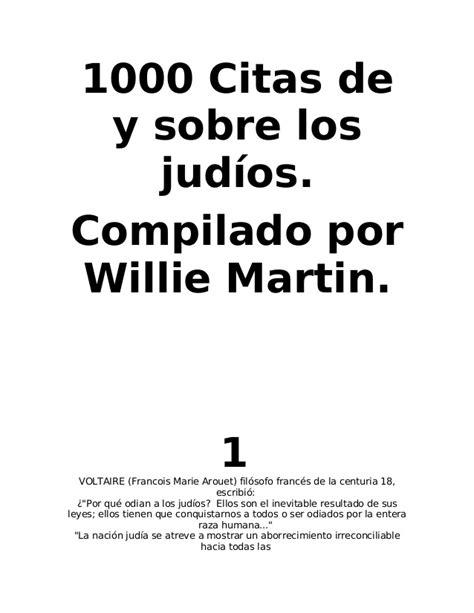 1000 Citas de y sobre los JUDÍOS.