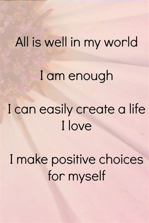 1000+ ideas about Positive Affirmations on Pinterest ...