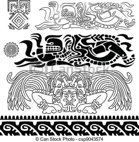 1000+ images about dibujos mayas y aztecas on Pinterest ...