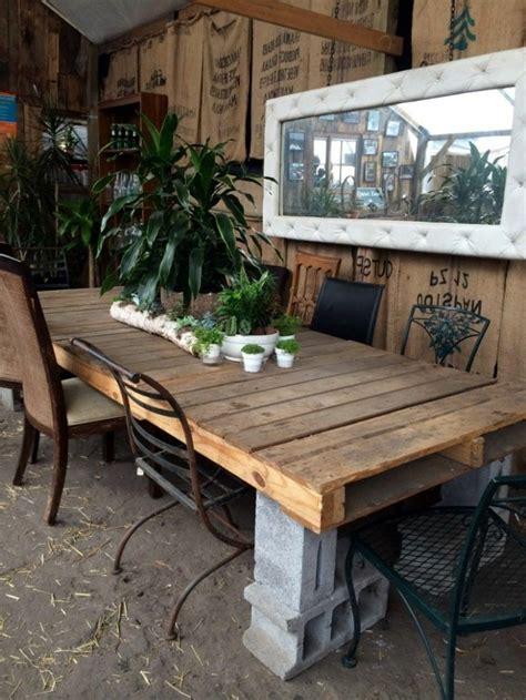 1001 + ideas de cómo hacer mesas con palets en casa