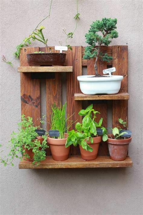 1001 + Ideas de jardineras con palets hechas a mano