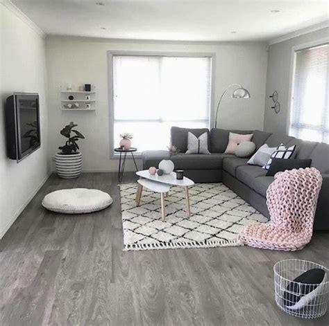 1001 + idées déco originales pour le salon rose et gris