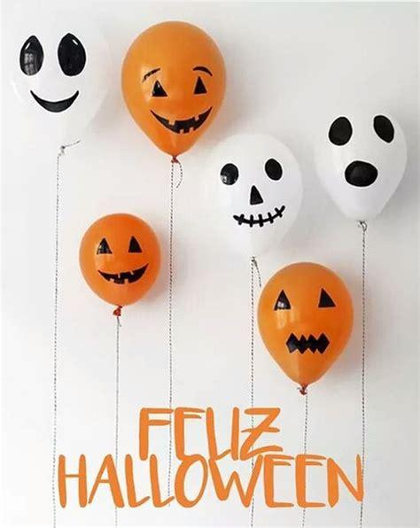 101 fiestas: 14 ideas para Decorar Halloween con Globos