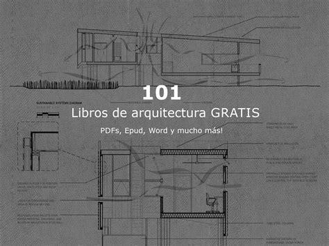 101 Libros de arquitectura gratis para descargar en español