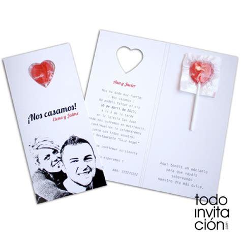 11 invitaciones de boda directas al corazón : Las ...